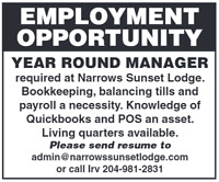 YEAR ROUND MANAGER