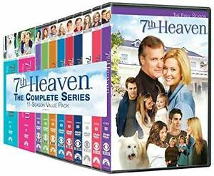 7th (Seventh) Heaven Complete 11 Seasons DVDs - Brand new Dulwich Hill Marrickville Area Preview
