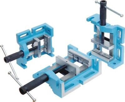 New Drill Press Vise 3 Way Vice Precision Ground Uni Grip 100 Mm 4 Right Angle