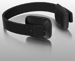 Aluratek Bluetooth Wireless Stereo Headphones - Black - ABH04FB