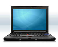 LAPTOP LENOVO X201,CORE I5 2.40GHZ,4GB,160GB,WIN7 PRO