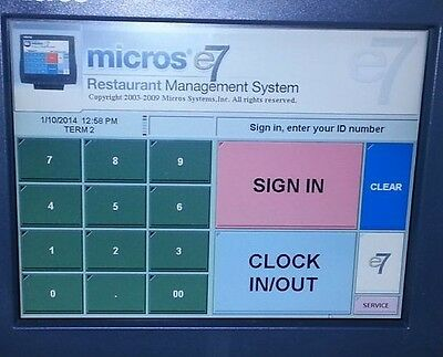 Micros E7 Pos Programming Support Database Programming
