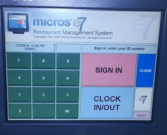 MICROS E7 POS - NEW CREDIT CARD RULES GOT YOU DOWN? ...WE MAY BE ABLE TO HELP
