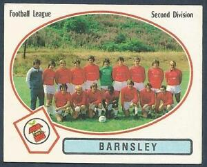 PANINI-FOOTBALL-82-334-BARNSLEY-TEAM-PHOTO