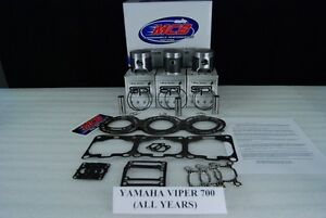 Yamaha srx 700  piston kit complete 1998-2002 TRIPLE CYLINDER