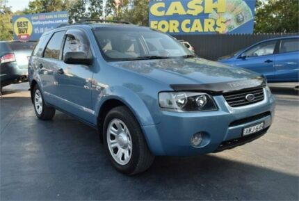 2005 Ford Territory SY TX Blue Sports Automatic Wagon Campbelltown Campbelltown Area Preview