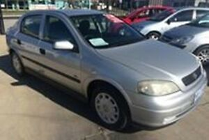 2001 Holden Astra TS CD Silver 5 Speed Manual Hatchback Fyshwick South Canberra Preview