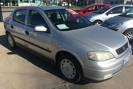 2001 Holden Astra TS CD Silver 5 Speed Manual Hatchback