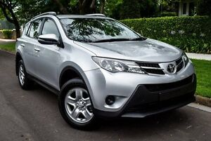 2014 Toyota RAV4 ASA44R MY14 GX AWD Silver 6 Speed Sports Automatic Wagon Medindie Walkerville Area Preview
