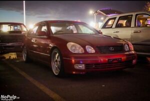 Toyota 1999 Red Aristo Vertex Edition Smooth Ride!