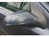 Vauxhall Astra Mk5 O/S Wing Mirror In Grey Colour (2006)
