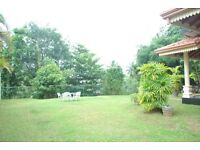 Stunning 5 bed family bungalow facing to river in Sri Lanka. 15 mts to Colombo 10 mts to Airport