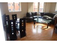 Large double room available 1st September in a shared City Centre apartment (all in).