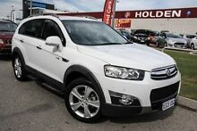 2012 Holden Captiva CG Series II MY12 White 6 Speed Sports Automatic Wagon East Rockingham Rockingham Area Preview