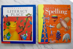 Grade 3 English teaching books - stories / spelling