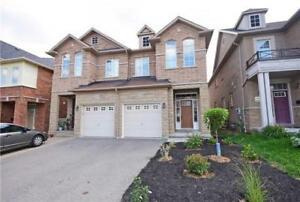 Stone Front Large 4 Bedrooms Semi, Over 2600 Sq Ft Of Living