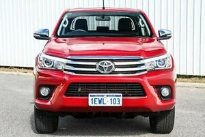 2015 Toyota Hilux GGN125R SR5 Double Cab Red 6 Speed Sports Automatic Utility Gosnells Gosnells Area Preview