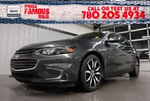 2018 Chevrolet Malibu LT. Text 780-205-4934 for more information