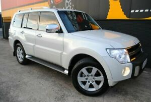 2010 Mitsubishi Pajero NT MY11 RX Pearl White 5 Speed Sports Automatic Wagon Melrose Park Mitcham Area Preview