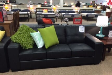 2 and 3 seater leather-look couches. Never used Berwick Casey Area Preview