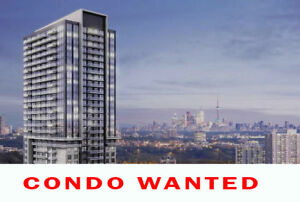 We Are Looking To Buy  a condo in Vaughan