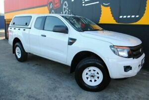2012 Ford Ranger PX XL Super Cab Super White 6 Speed Manual Utility Melrose Park Mitcham Area Preview