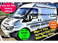 2 Mans & A Van - BARGAIN REMOVALS & MAN AND VAN SERVICE FOR ABERARE AREA