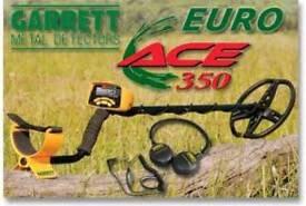 2 x Garrett euro ace 350 metal detectors