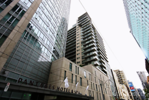 FULLY FURNISHED STUDIO CONDO FOR RENT IN DOWNTOWN TORONTO