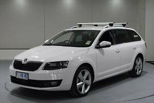 2016 Skoda Octavia NE MY16 Style DSG 110TSI White 7 Speed Sports Automatic Dual Clutch Wagon Invermay Launceston Area Preview