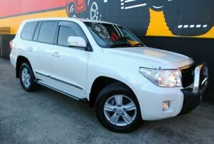 2014 Toyota Landcruiser VDJ200R MY13 Altitude Crystal Pearl 6 Speed Sports Automatic Wagon Melrose Park Mitcham Area Preview