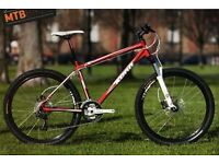 "Kona Cinder Cone Mountain Bike Red 17"""