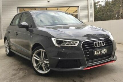 2015 Audi A1 8X MY15 S Line Sportback S tronic Grey 7 Speed Sports Automatic Dual Clutch Hatchback Berwick Casey Area Preview