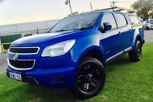 2014 Holden Colorado RG MY14 LX (4x2) Blue 6 Speed Automatic Crew Cab P/Up Maddington Gosnells Area Preview