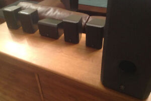 Subwoofer and surround sound speakers (5.1)