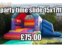 Bouncy castle inflatable slides,disco domes,soft play and night club hire