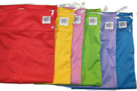 Two Brand New Dual Pocket Antibacterial Wet Bags - You Pick