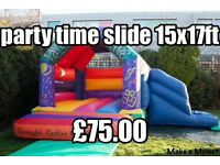 Bouncy castle,Disco Domes,Inflatables Slides,Soft Play. Nightclub Hire