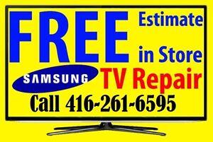 > Samsung Smart TV, Curved, LED, LCD, 3D, 4K, Plasma TV Repair