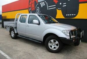 2010 Nissan Navara D40 ST Clean Silver 6 Speed Manual Utility Melrose Park Mitcham Area Preview