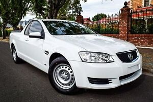 2011 Holden Ute VE II Omega White 6 Speed Sports Automatic Utility Medindie Walkerville Area Preview