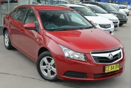 2010 Holden Cruze JG CD Red 5 Speed Manual Sedan Pearce Woden Valley Preview