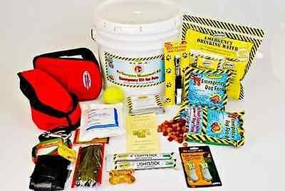 Emergency Supplies Pet Survival Food Water Kit Earthquake Disaster