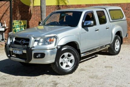 2008 Mazda BT-50 B3000 SDX (4x4) Silver 5 Speed Automatic Dual Cab Pick-up Upper Ferntree Gully Knox Area Preview
