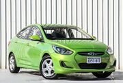 2011 Hyundai Accent RB Active Green 4 Speed Sports Automatic Sedan Willetton Canning Area Preview