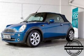 MINI CONVERTIBLE 1.6 COOPER 2d 114 BHP (blue) 2007