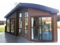 Beautiful lodge for sale on Northumberland Holiday Park
