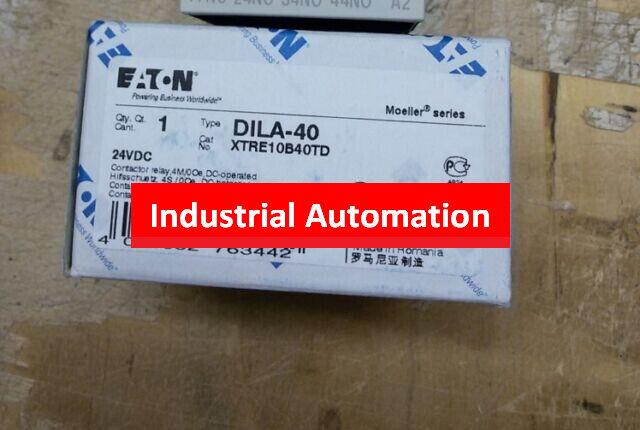 1PC NEW EATON MOELLER DC contactors DILA-40C