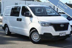 2018 Hyundai iLOAD TQ4 MY19 Crew Cab White 5 Speed Automatic Van South Melbourne Port Phillip Preview