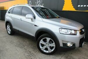 2011 Holden Captiva CG Series II 7 AWD LX Nitrate Silver 6 Speed Sports Automatic Wagon Melrose Park Mitcham Area Preview